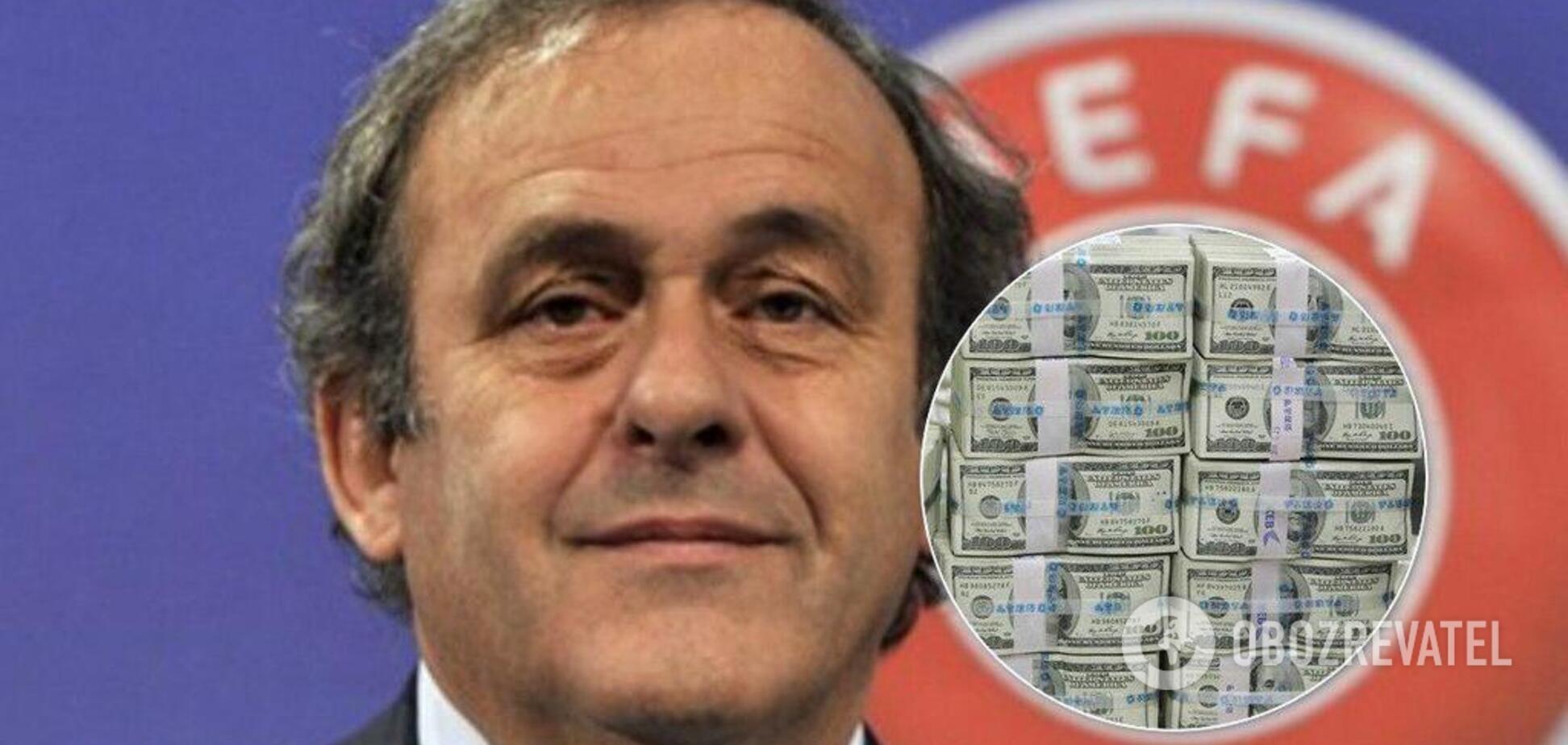 Експрезидента УЄФА Платіні заарештували: перші деталі та реакція Росії