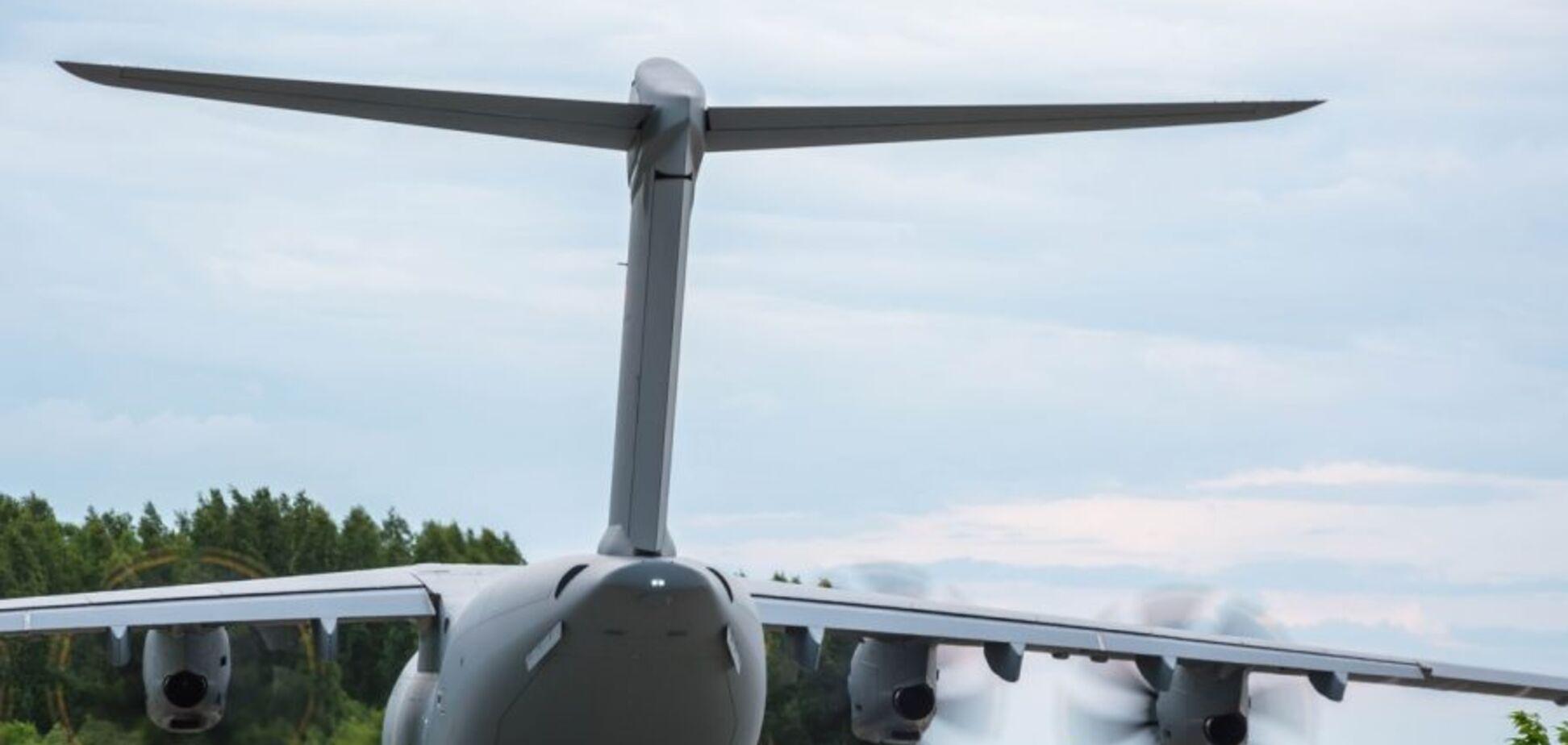 У Росії сів літак НАТО