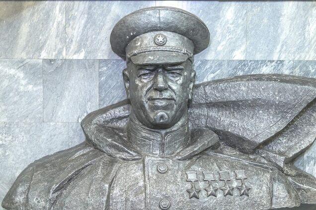 Бюст Жукова в метро Харкова