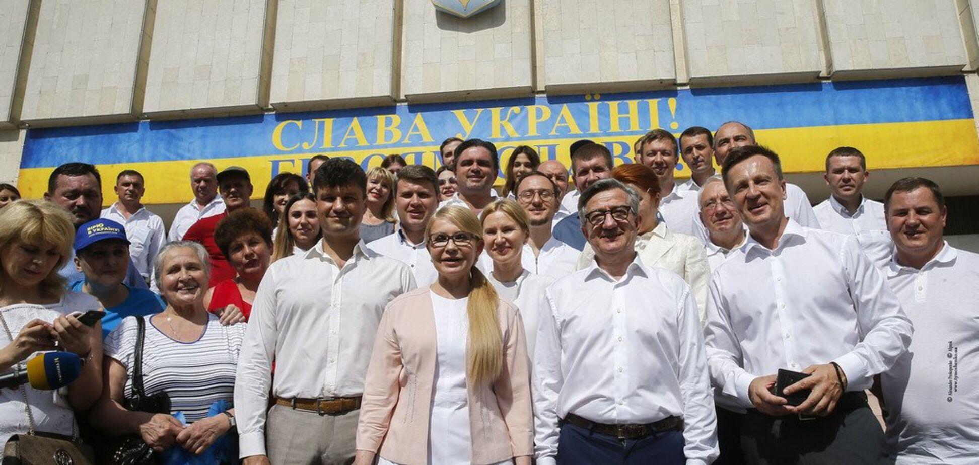 Тимошенко: ми йдемо до парламенту, щоб забезпечити результат за 100 днів