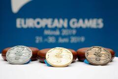 Украина в тройке лучших! Итоговый медальный зачет Европейских игр-2019