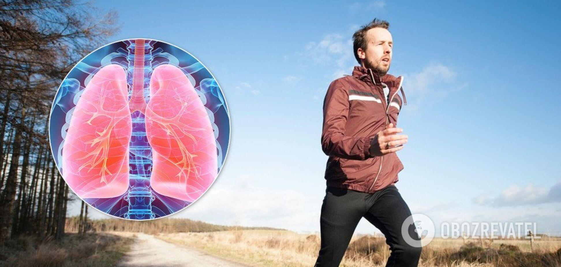 Знижує ризик захворювань: вчені розкрили секрет здорових легень