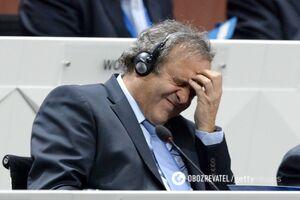'Спрашивали о России': Платини рассказал о допросе