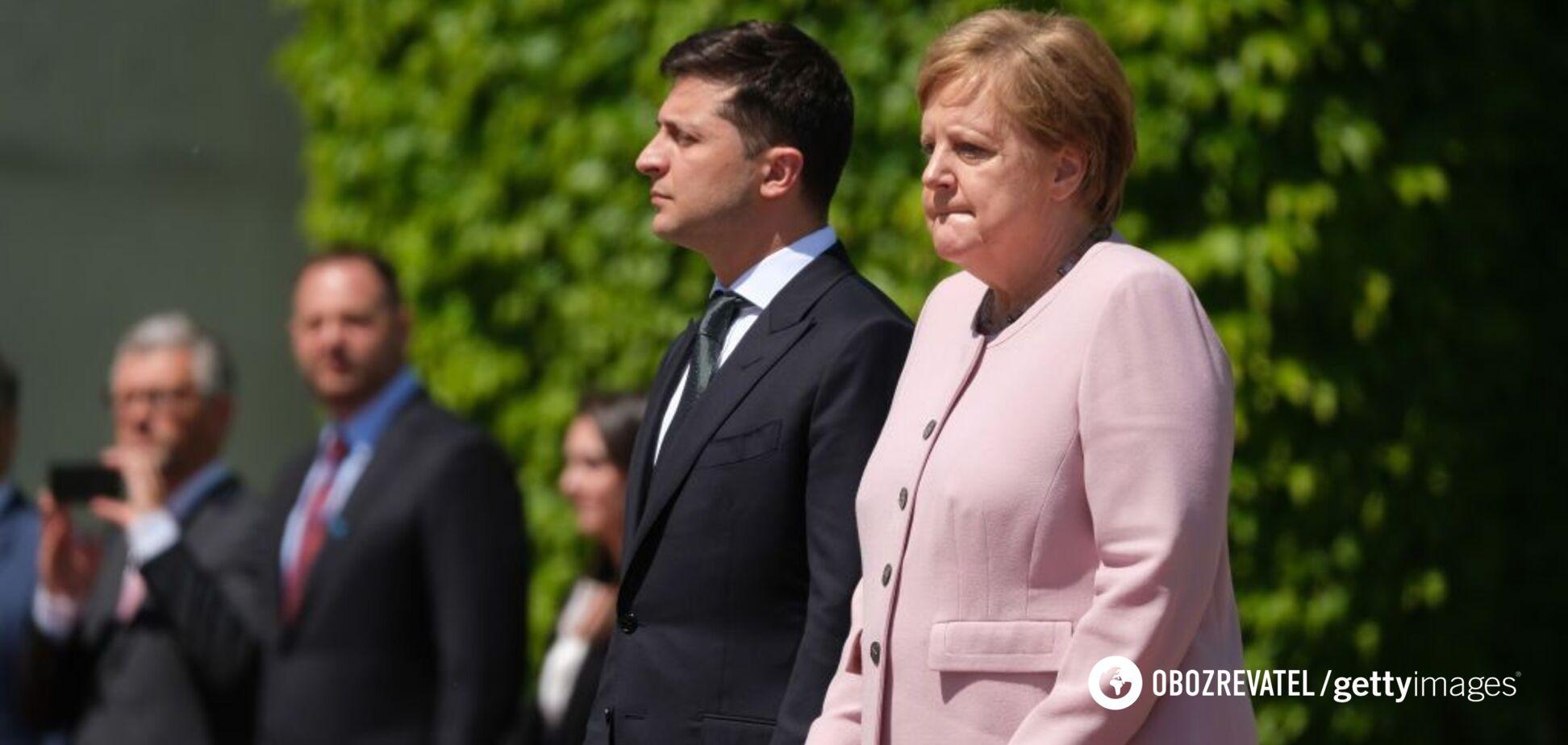 'Молився і просив Бога': з'явилися деталі НП із Меркель перед Зеленським