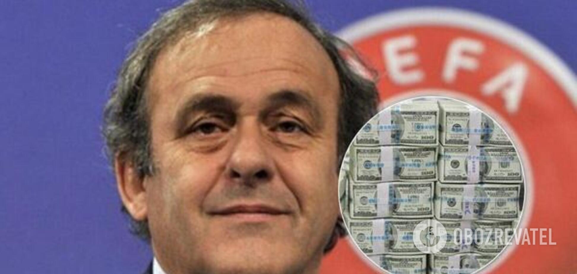Корупція на ЧС-2022: експрезидента УЄФА Платіні звільнили з-під варти