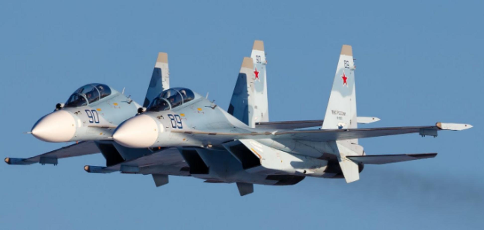 Росія перекинула авіацію в Крим