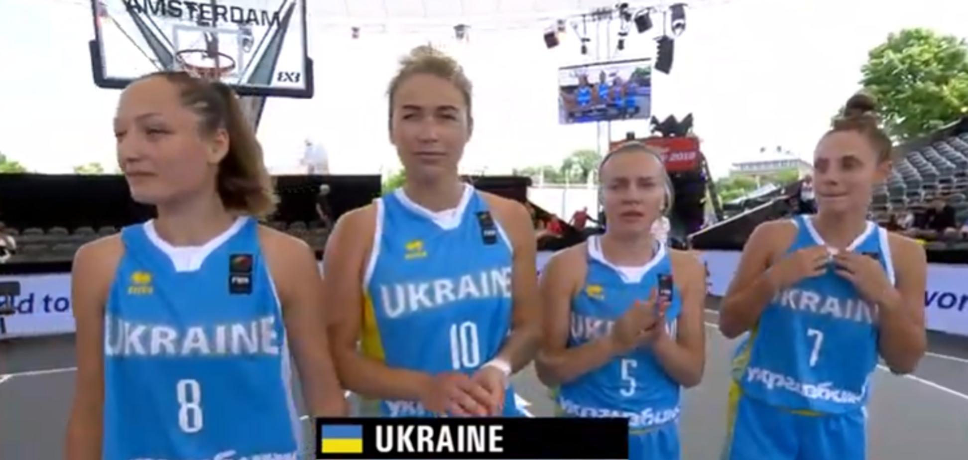 Українки розгромною перемогою завершили ЧС із баскетболу 3х3