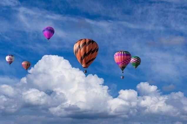 Воздушные шары (иллюстрация)