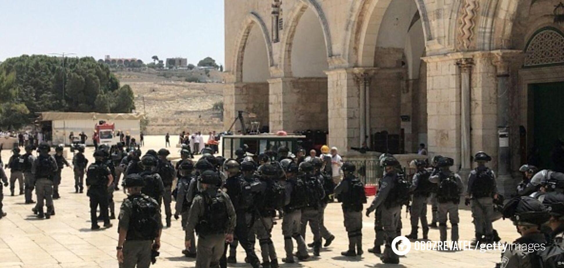 Забросали камнями полицию: в Иерусалиме в день города произошли столкновения