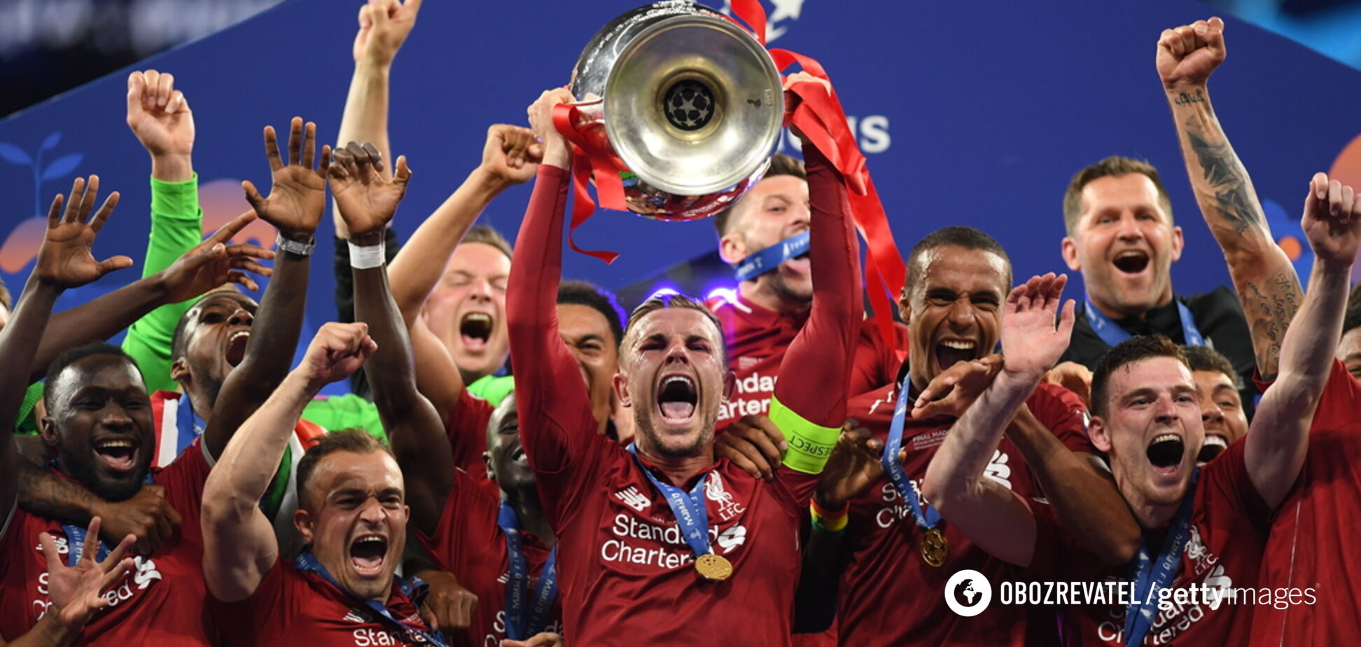 Как прошел финал Лиги чемпионов: яркий фоторепортаж