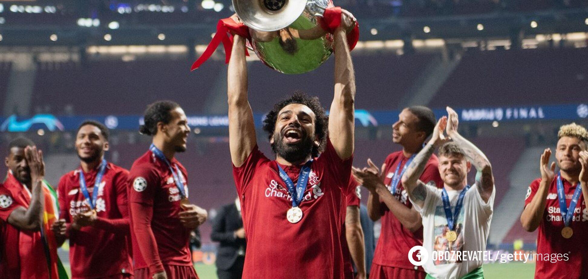 'Ливерпуль' показал, что творилось в раздевалке после победы в финале Лиги чемпионов