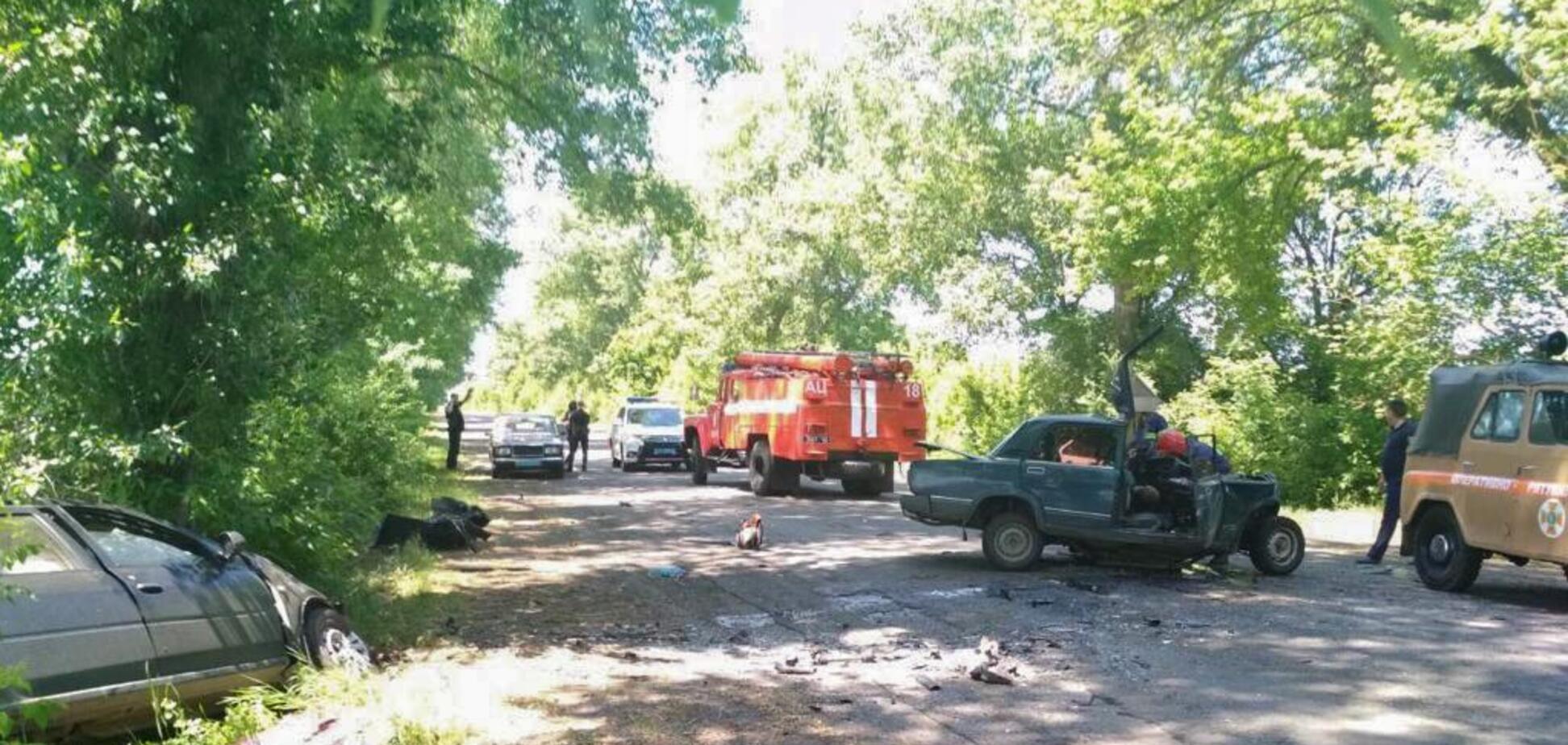 Виновен полицейский? На Николаевщине произошла смертельная авария: фото