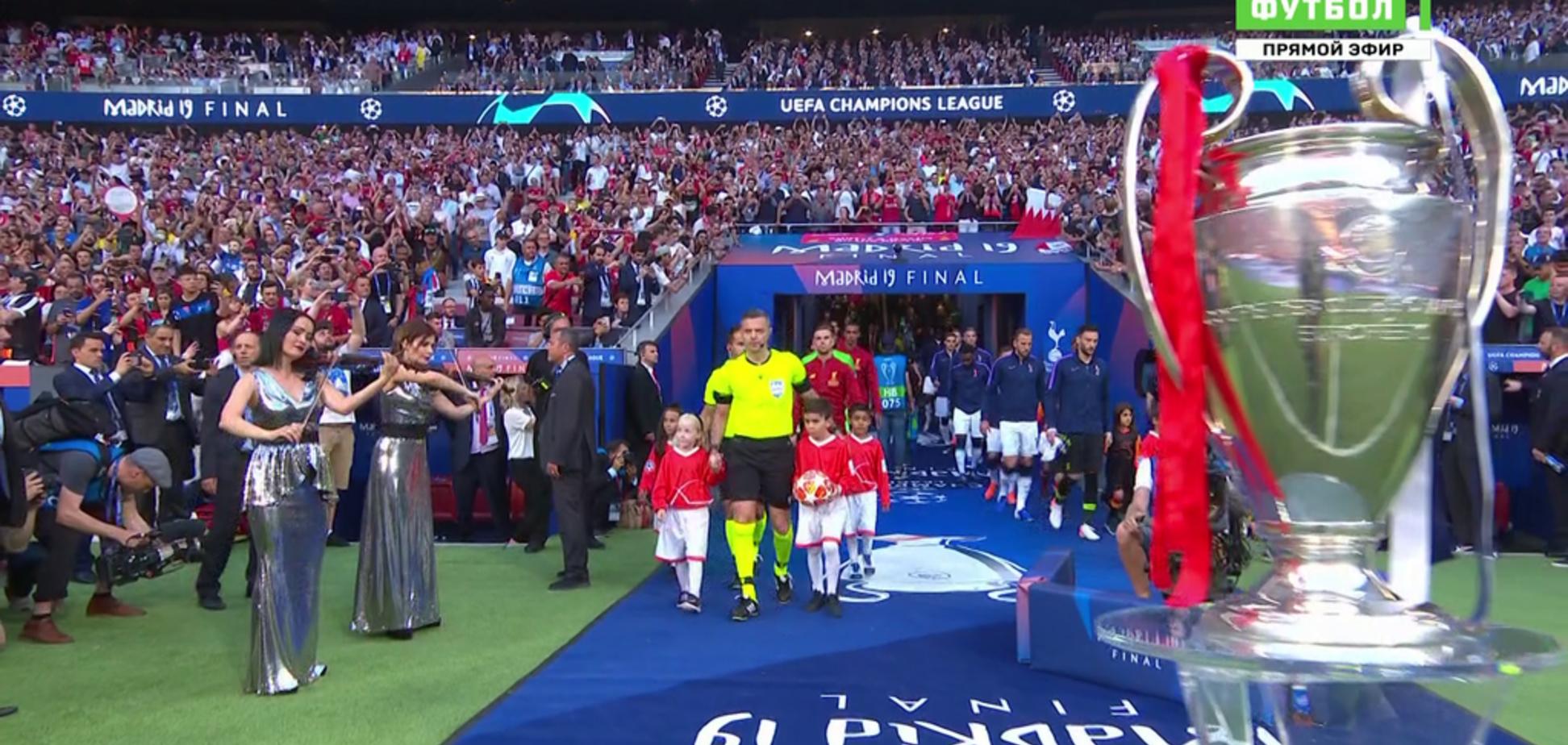 Российские комментаторы испугались Украины на финале Лиги чемпионов - видеофакт