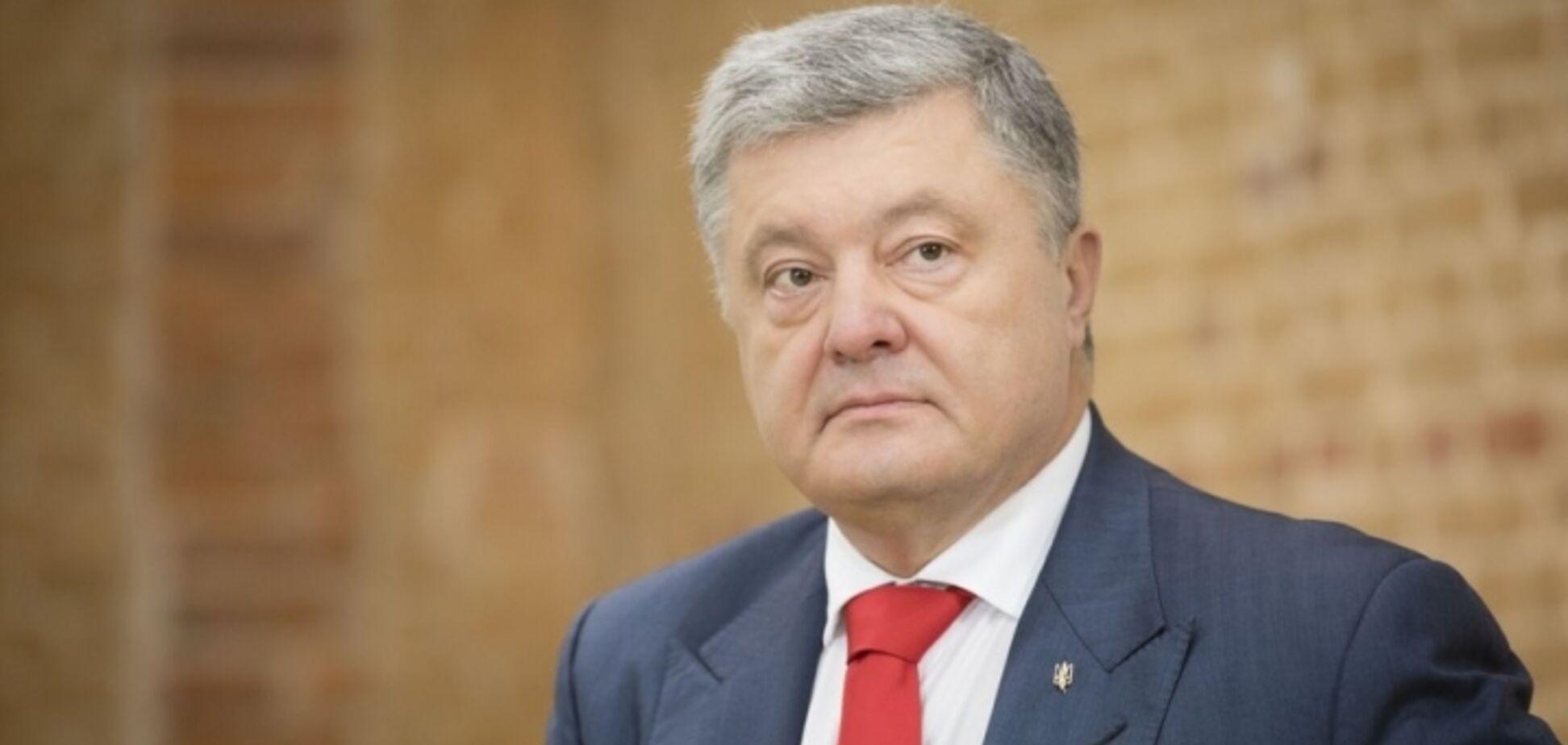 На Львовщине выступление Порошенко срывали дымовыми шашками: провокация попала на видео