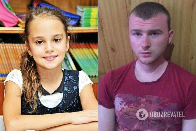 Убитая Даша и подозреваемый Николай Тарасов