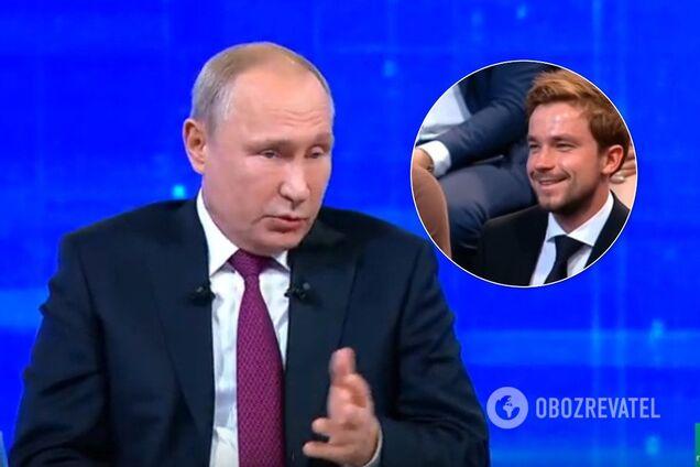 """""""Держится из последних сил?"""" Известный актер озадачил сеть поведением на """"Прямой линии"""" с Путиным"""