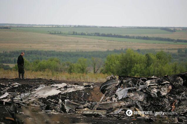 Сбитый Боинг на Донбассе