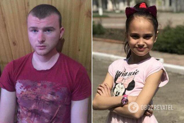 Подозреваемый Николай Тарасов и убитая Даша Лукьяненко