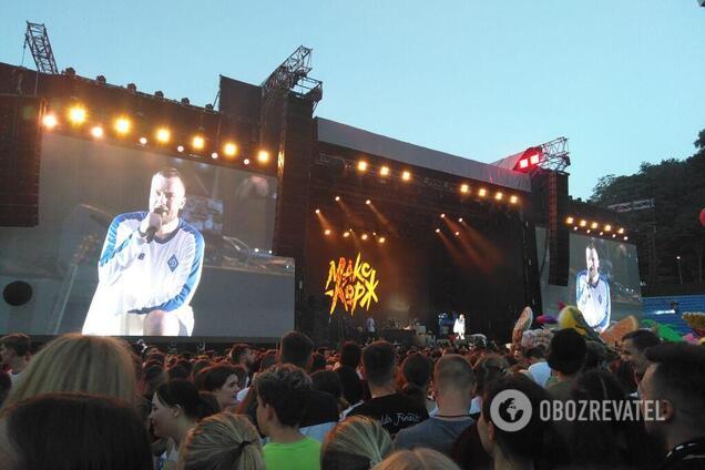 """""""Киев, я скучал!"""" Появились фото и видео безумия на концерте Коржа"""