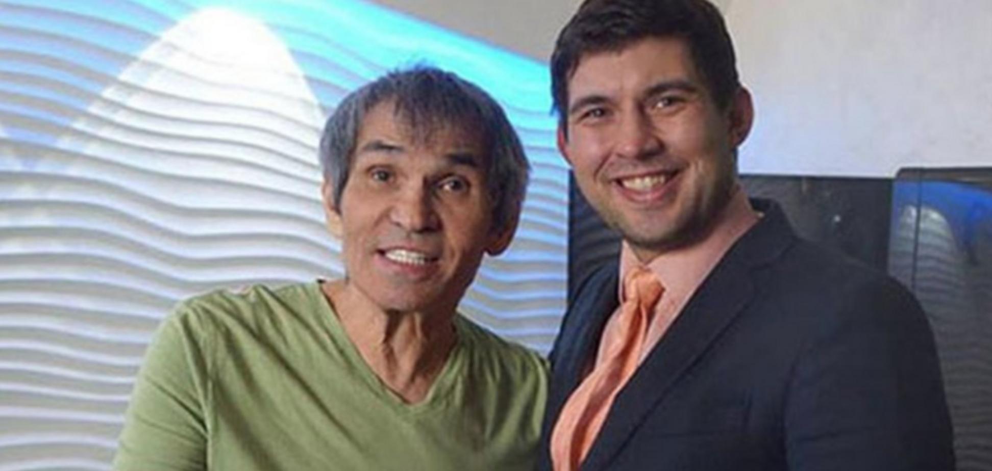 Барі Алібасов з сином