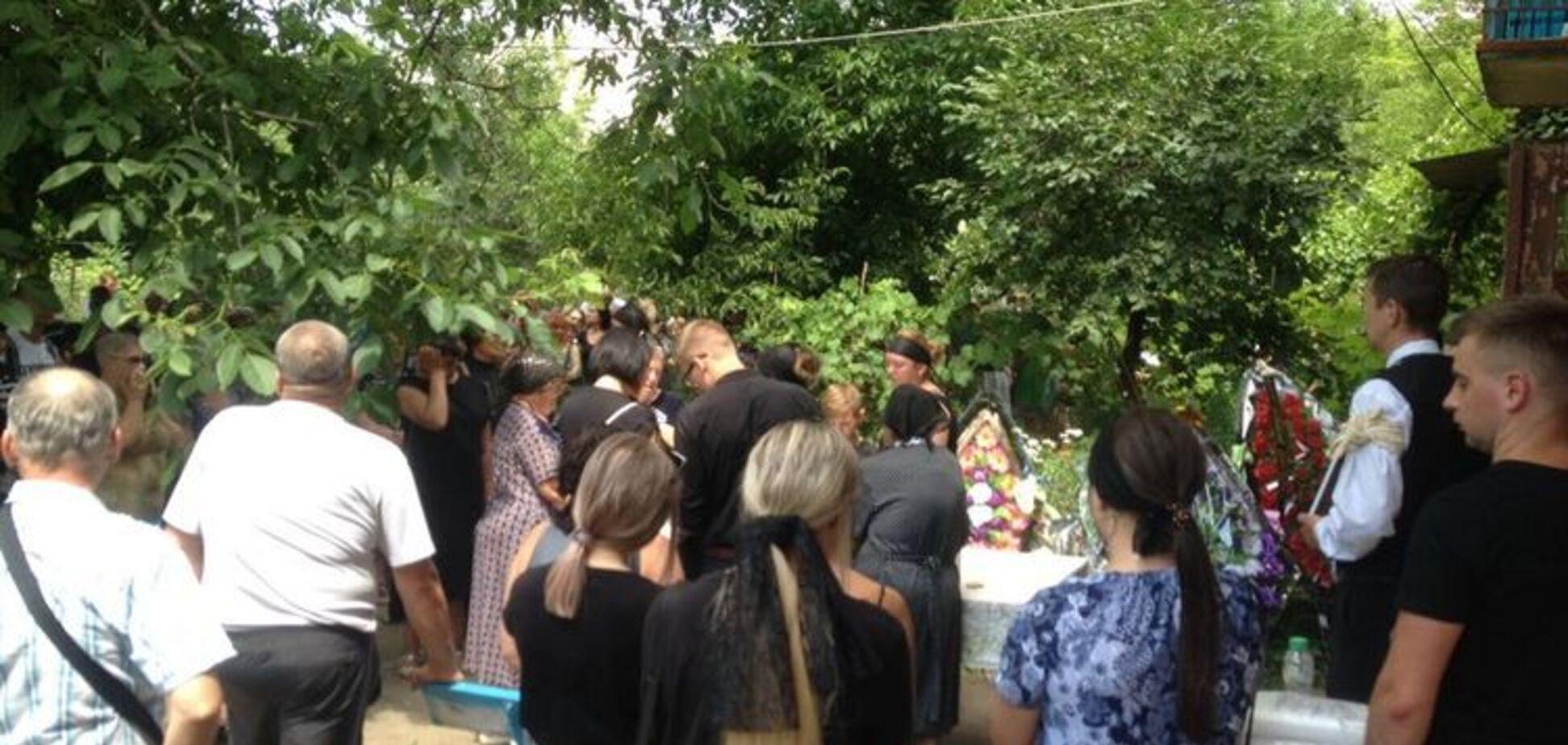 Похороны Даши Лукьяненко