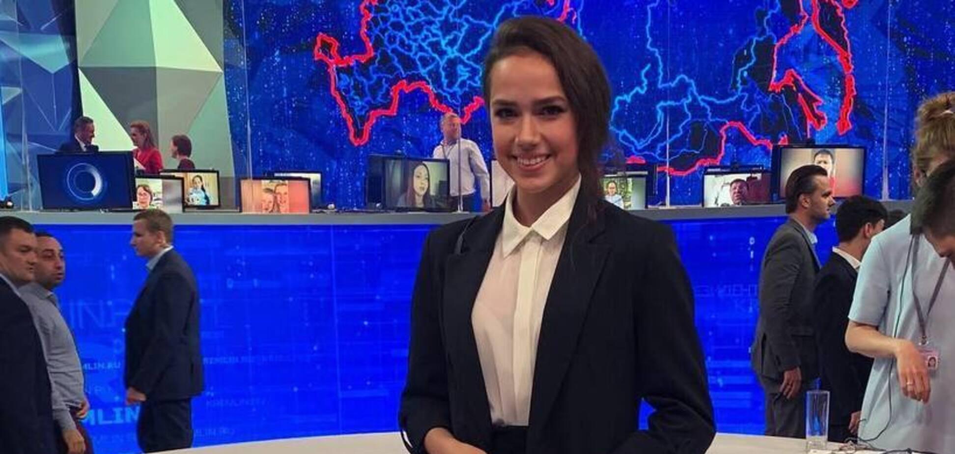 Олимпийская чемпионка побывала на 'Прямой линии' Путина и поплатилась