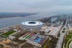 В России разграбили стадион ЧМ-2018