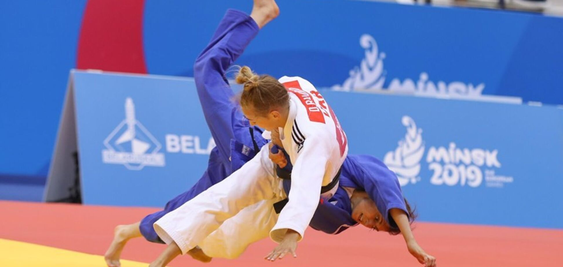 Украинка Белодед завоевала 'золото' Европейских игр, победив россиянку