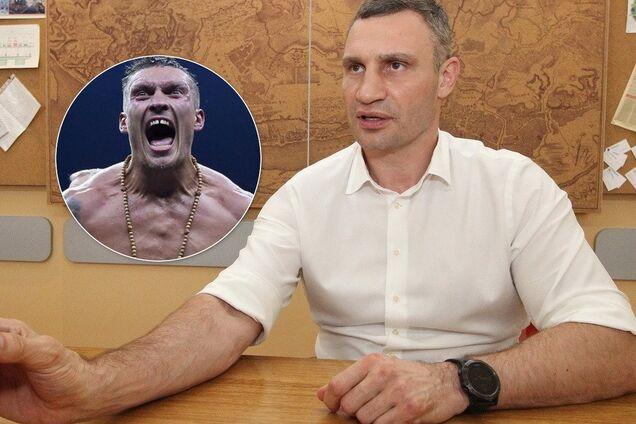 Кличко рассказал, когда Усик проведет бой в Киеве