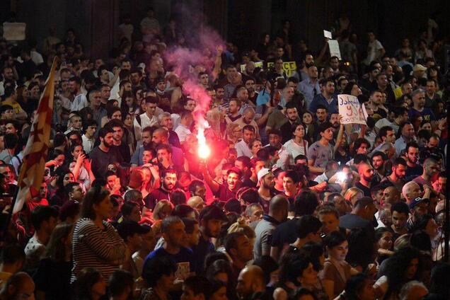 Мітинг у Грузії 22 червня