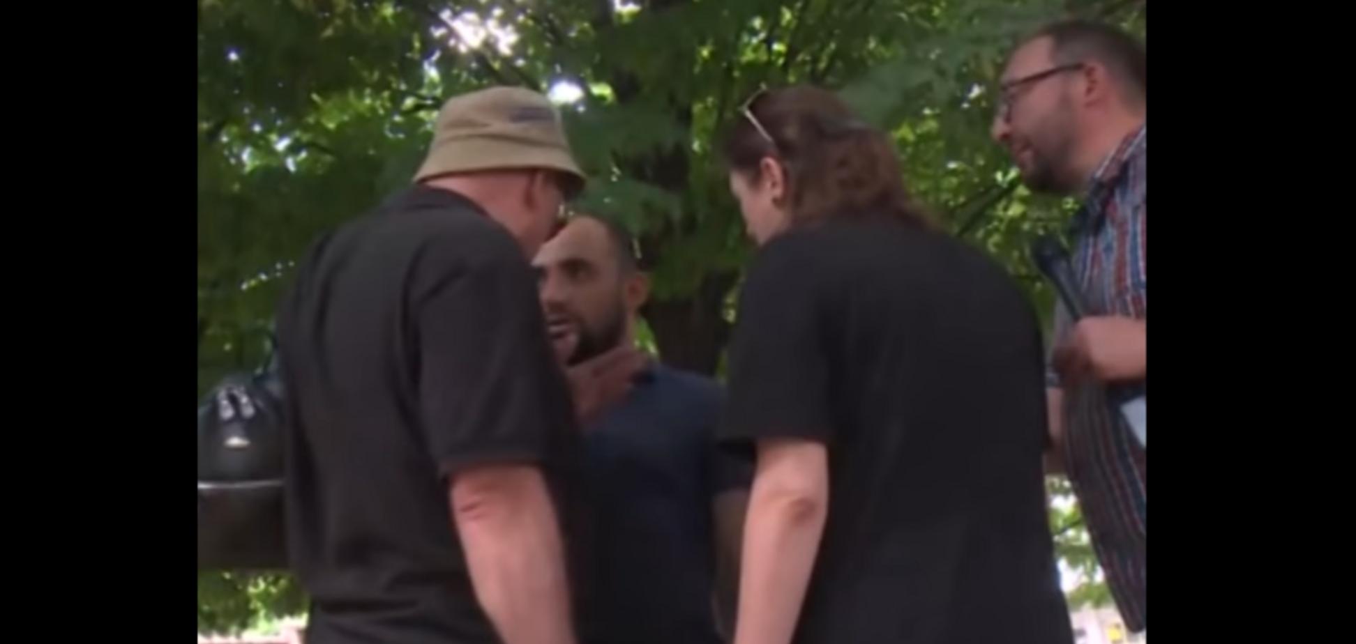 'Хлопчика вже розіп'яли?' Побиття російських пропагандистів у Грузії викликало ажіотаж у мережі