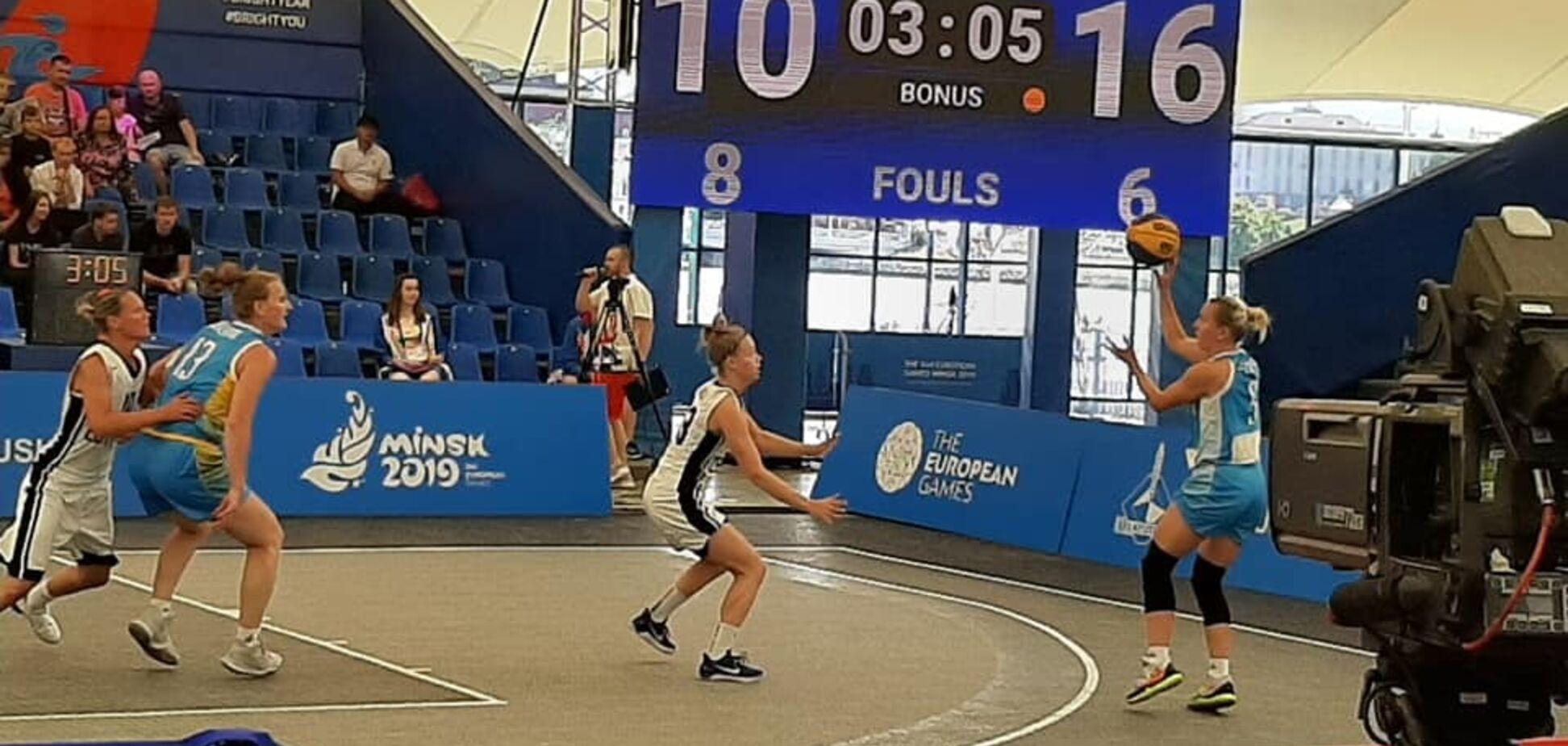 Сборную Украины 3х3 'убили' судьи на Европейских играх