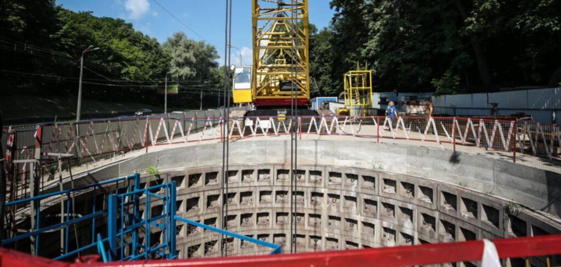 В Киеве появятся новые станции метро: фоторепортаж из эпицентра строительства