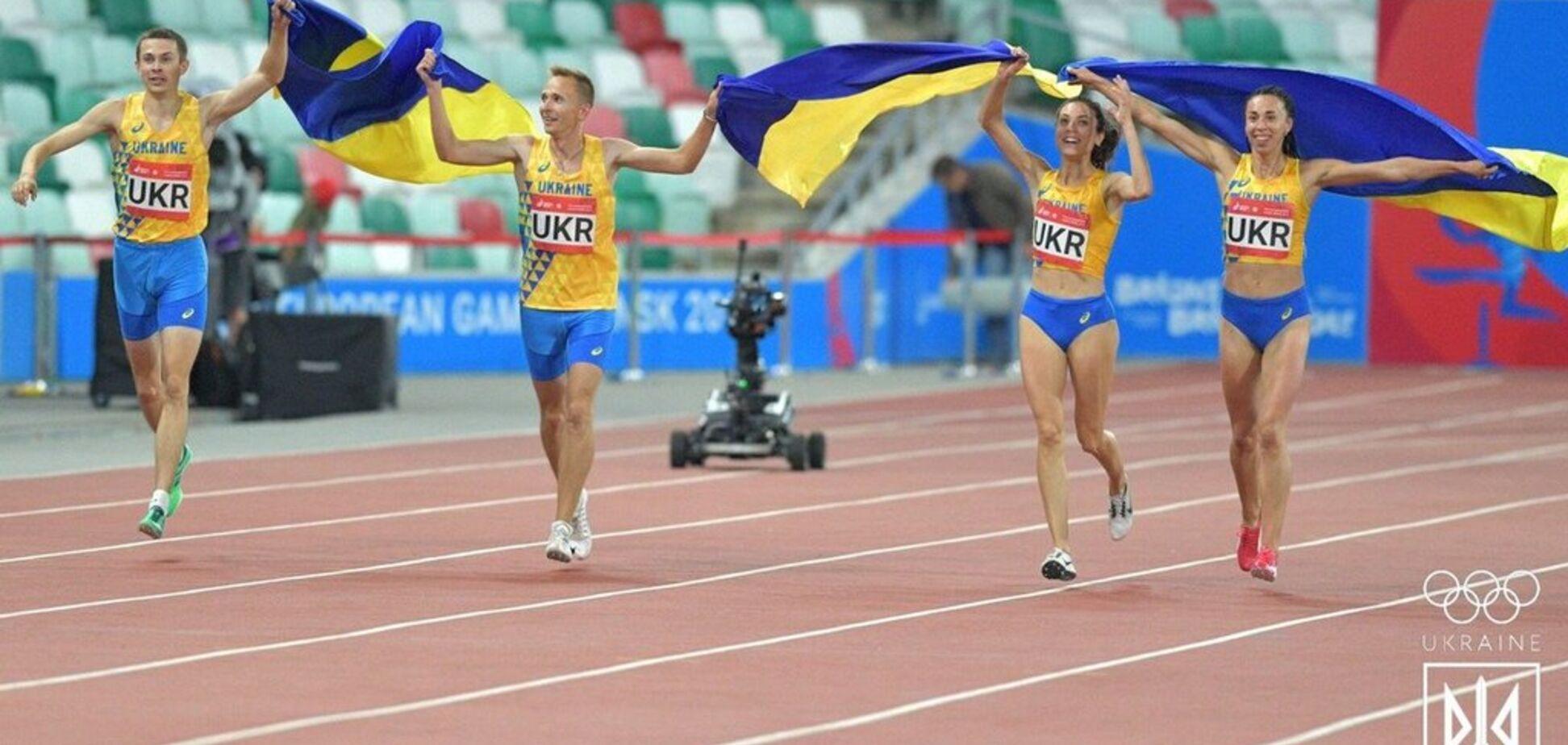 Украина сделала золотой дубль на Европейских играх