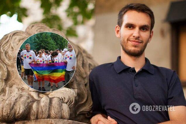 Противник ЛГБТ Максим Галицкий