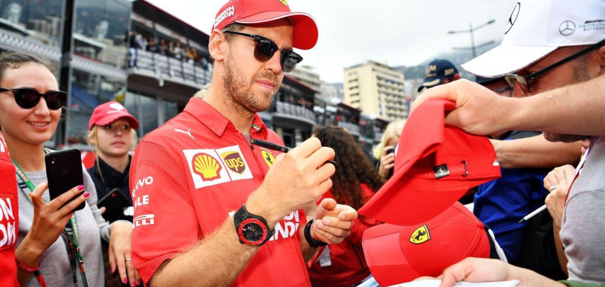Лідер Ferrari Феттель таємно одружився: фото обраниці