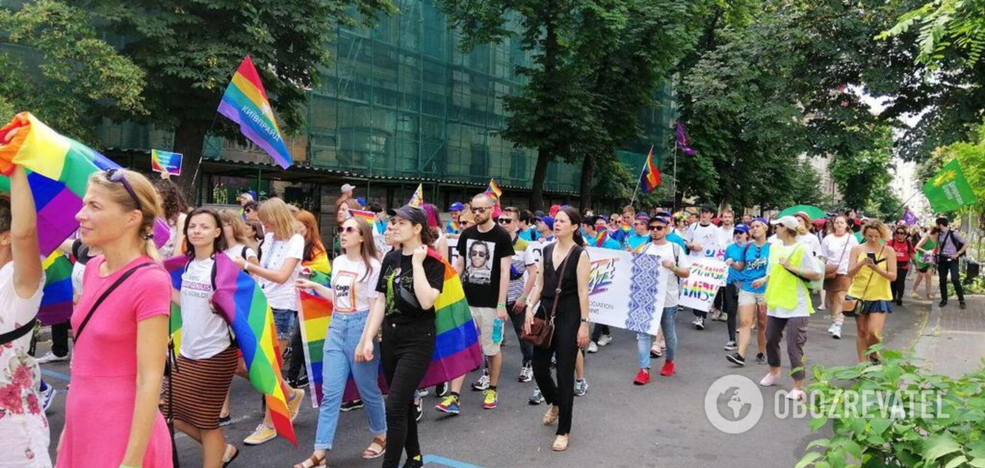 'Г*вно дырявой ложкой собирали': в сети бурно обсуждают Марш равенства в Киеве