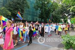 'Л*йно дірявою ложкою збирали': в мережі бурхливо обговорюють Марш рівності в Києві