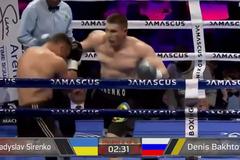 Непобедимый украинец выиграл бой нокаутом, забив русского боксера