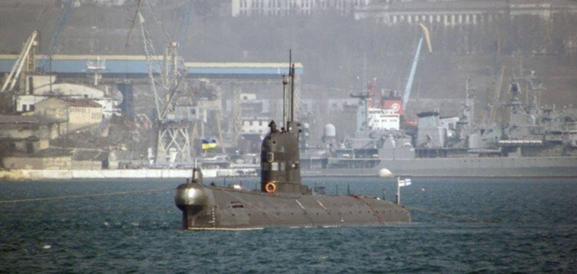 У Криму придумали, як знищити захоплений український підводний човен