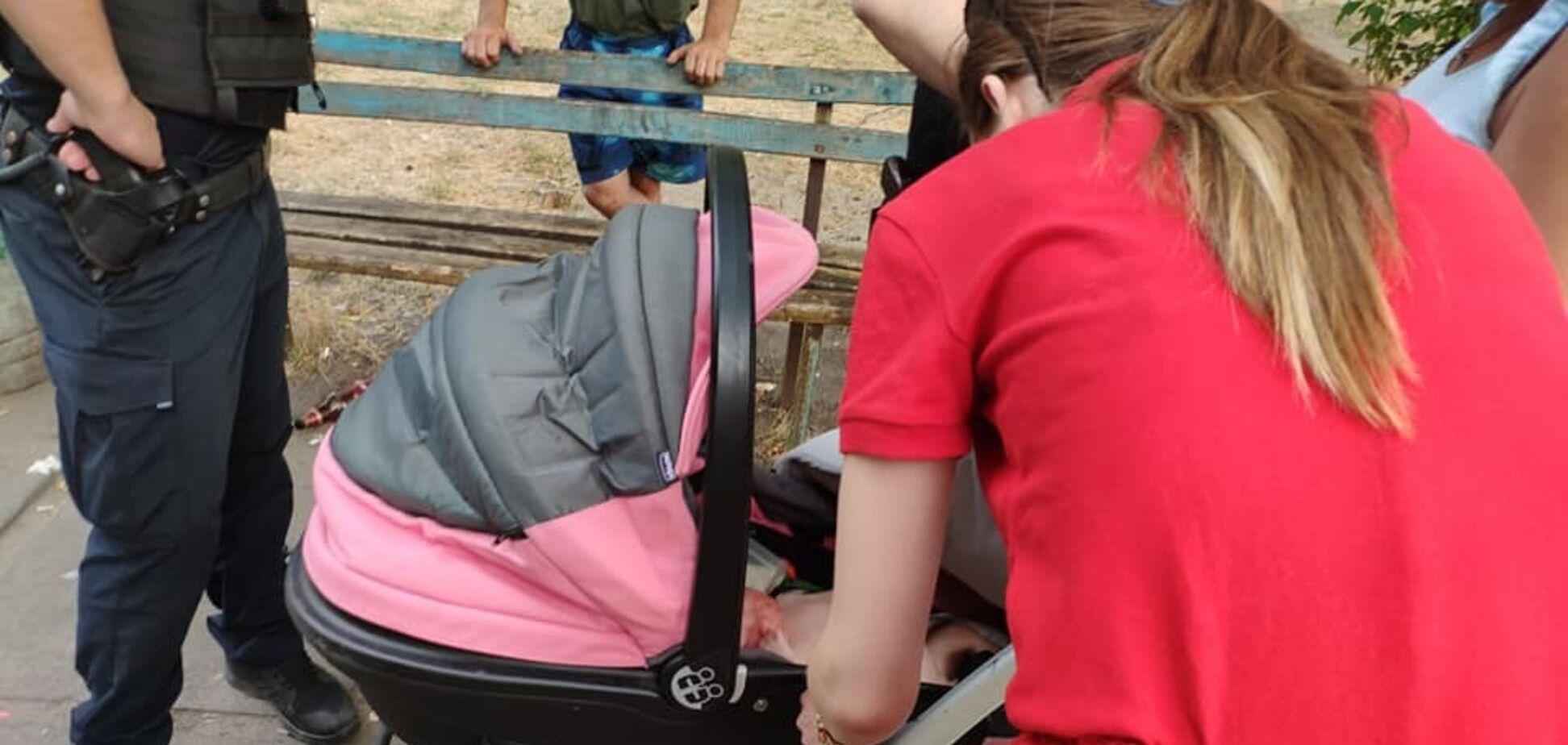 'Бухала целый день!' В Киеве произошло жуткое ЧП с маленьким ребенком
