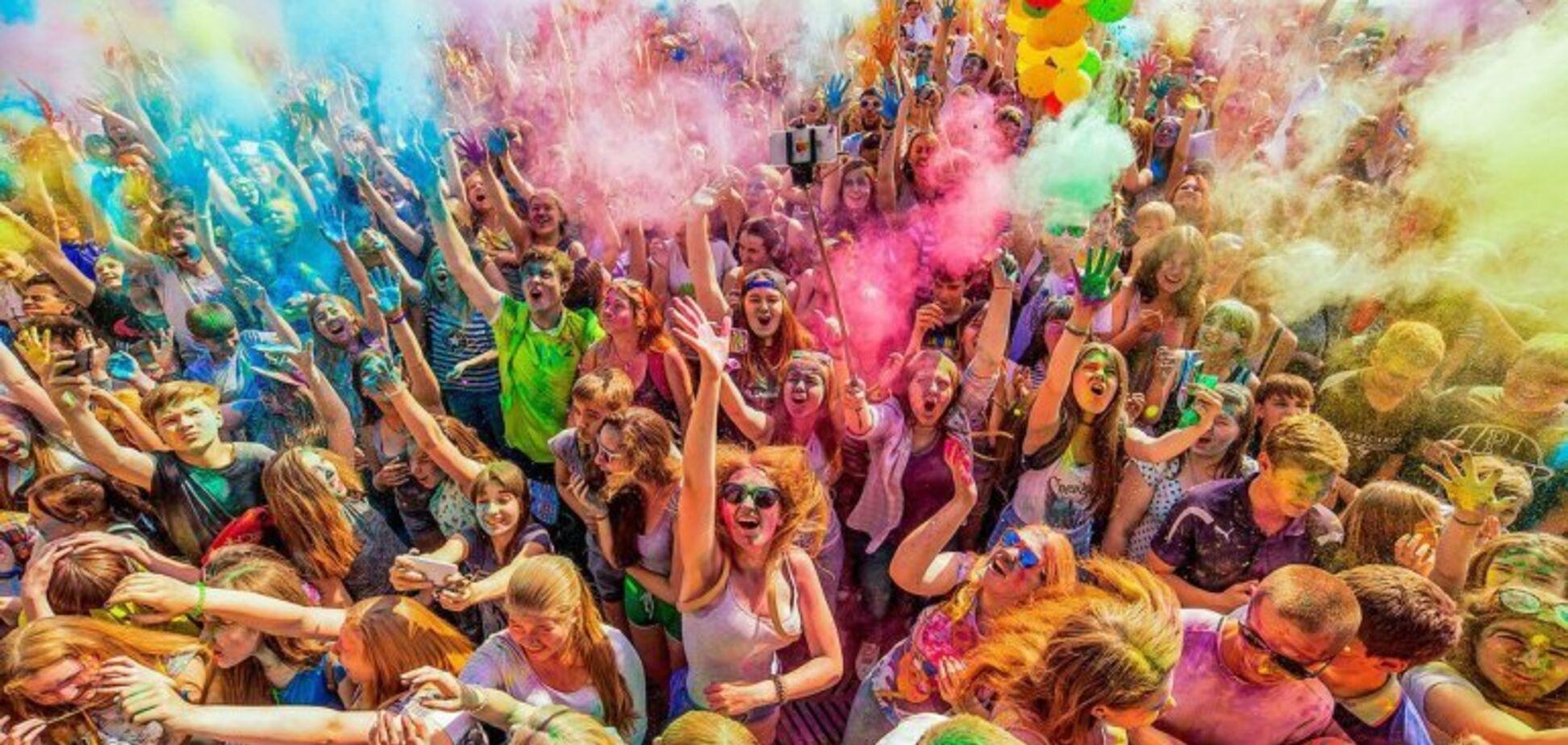 Битва фарбами та зірковий концерт: у Дніпрі підготували цікаву програму до Дня молоді