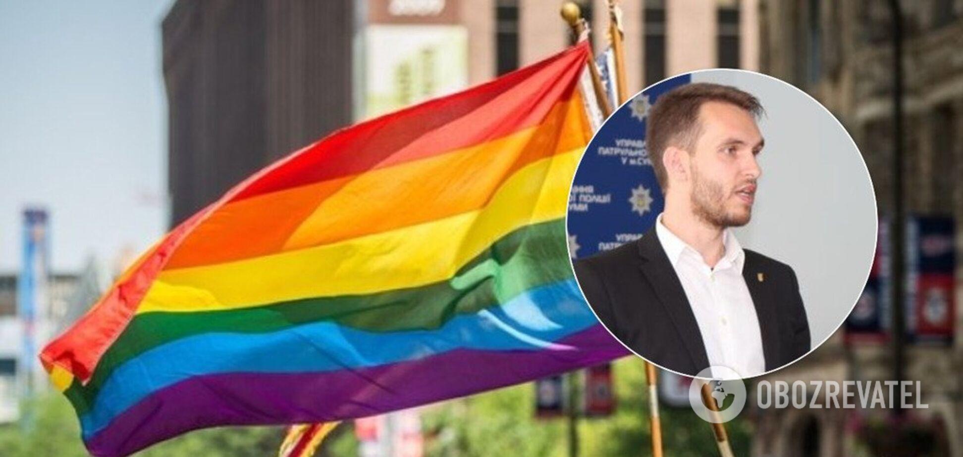 Геев и лесбиянок отправить в концлагеря: заммэра Сум объяснил свое заявление