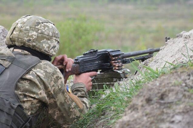 На Донбассе разгромили огневые точки террористов