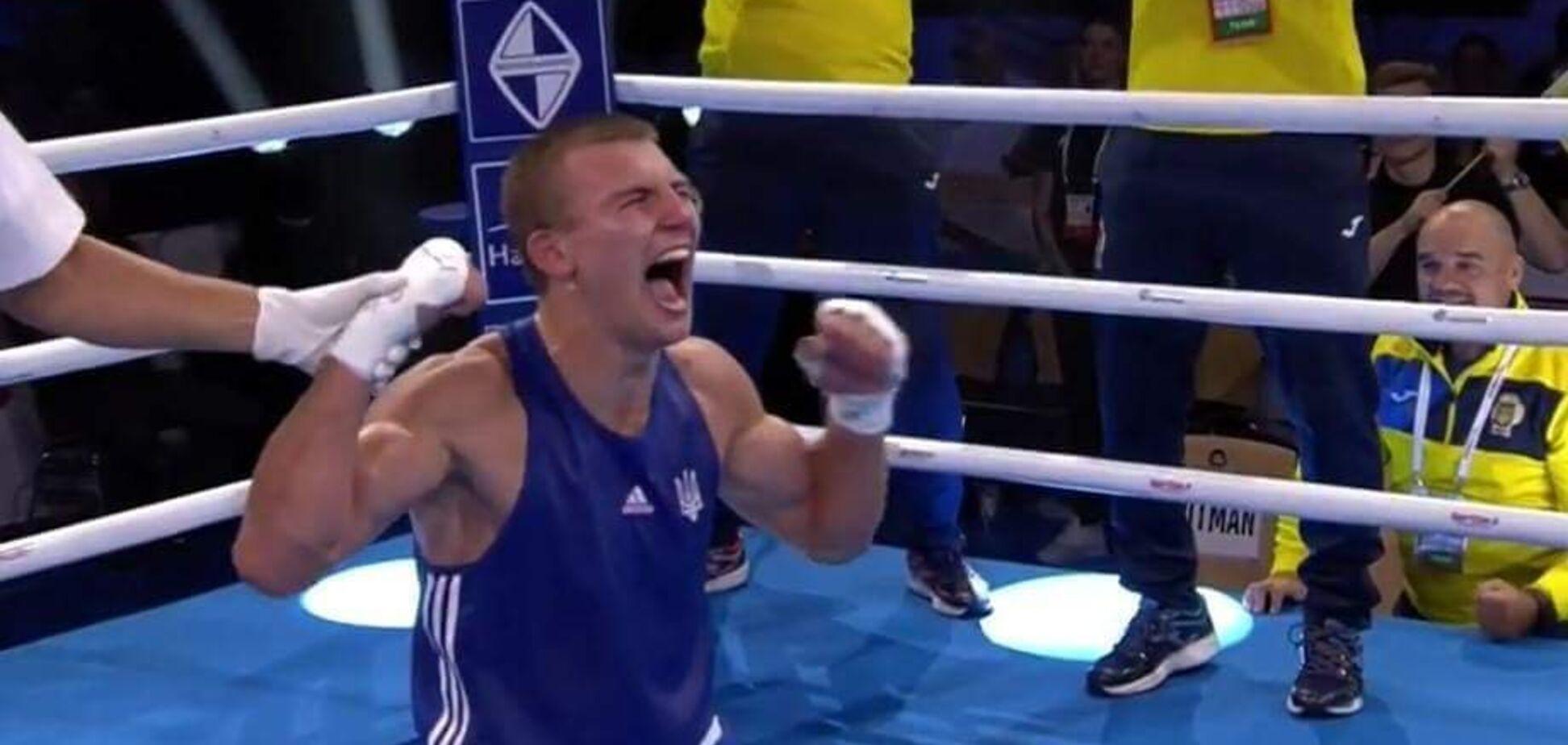 Знаменитый украинский боксер забил предателя из Крыма на Европейских играх