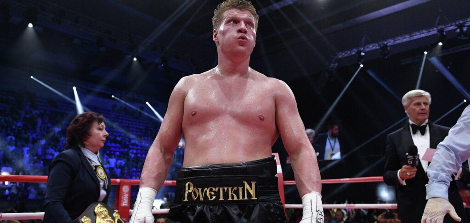 С Поветкиным отказались драться и сорвали ему бой