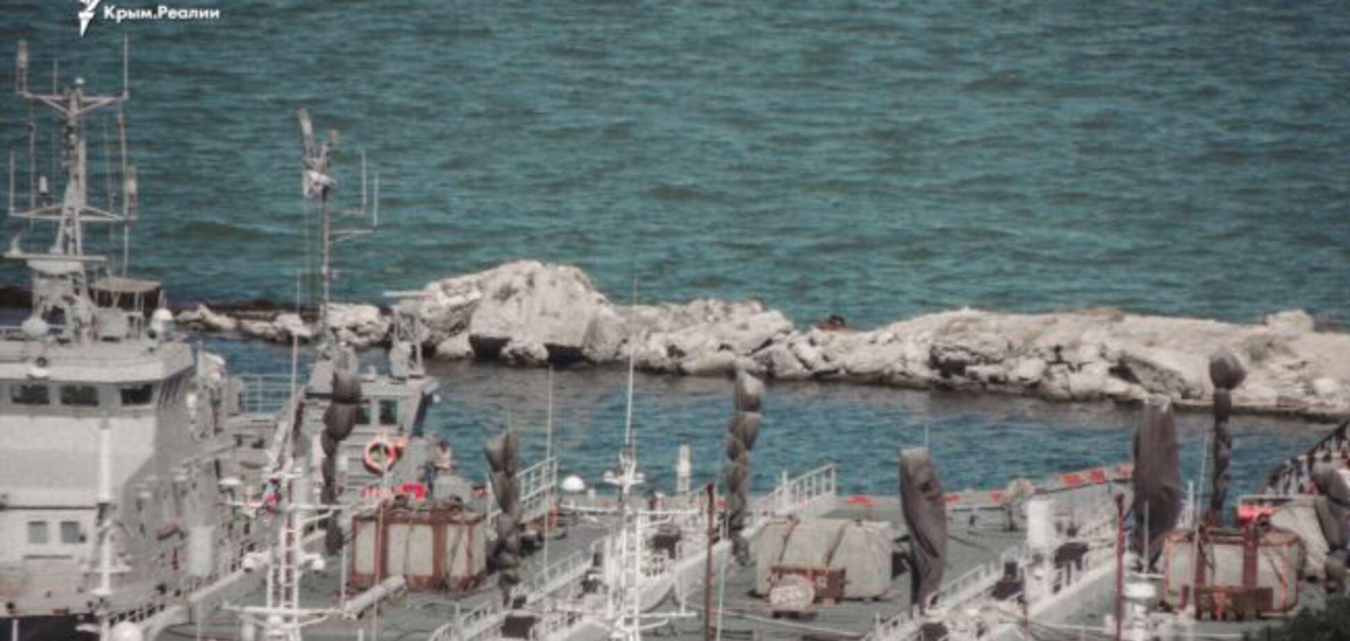 В Крыму внезапно исчезли украинские корабли: что известно