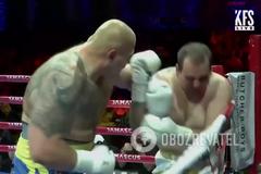 Український суперваж потужним нокаутом дебютував на профі-рингу