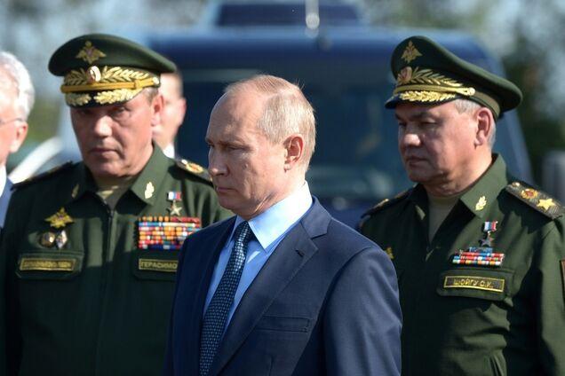 Владимир Путин, Валерий Герасимов, Сергей Шойгу