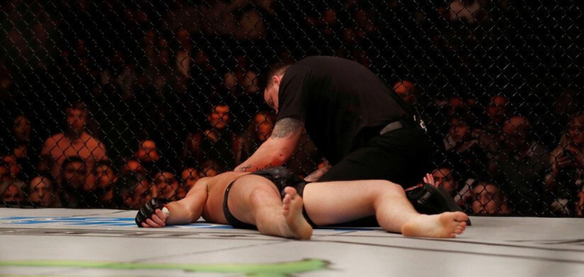 Нокаут на турнире MMA вошел в историю